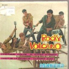Discos de vinilo: EP ROCKY VOLCANO: CRISTOBAL COLON TWIST + 3 . Lote 29806720