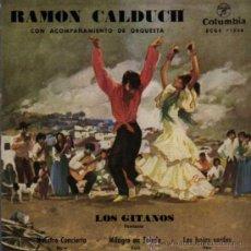 Discos de vinilo: SINGLE - RAMON CALDUCH - LOS GITANOS.... Lote 29810545
