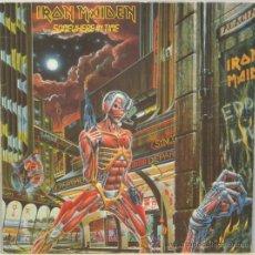 Discos de vinilo: IRON MAIDEN SOMEWHERE IN TIME LP EMI 1986. Lote 29812848