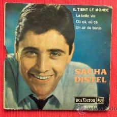 Disques de vinyle: SACHA DISTEL - 1963. Lote 29816750