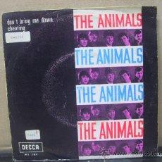 Vinyl-Schallplatten - THE ANIMALS - DON'T BRING ME DOWN / CHEATING - EDICION ESPAÑOLA - DECCA 1966 - 29825957
