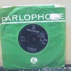 Discos de vinilo: THE BEATLES - SHE LOVES YOU / I'LL GET YOU - ORIGINAL U.K. - PARLOPHONE 1963. Lote 29828606