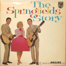 Discos de vinilo: THE SPRINGFIELDS STORY DOBLE LP CARPETA ABIERTA PHILIPS 1963. Lote 29830555
