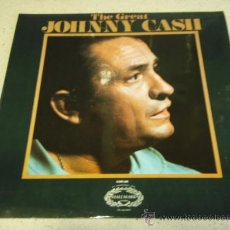 Discos de vinilo: JOHNNY CASH ' THE GREAT JOHNNY CASH ' ENGLAND LP33 HALLMARK RECORDS. Lote 29830592