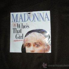 Discos de vinilo: MADONNA SINGLE WHOS THAT GIRL 1987 BANDA SONORA ORIGINAL. Lote 29834898