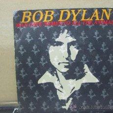Discos de vinilo: BOB DYLAN - MAN GAVE NAMES TO ALL THE ANIMALS / WHEN HE RETURNS - PROMO -EDICION ESPAÑOLA - CBS 1979. Lote 29838761
