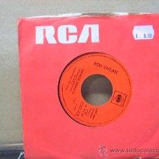 Discos de vinilo: BOB DYLAN - GEORGE JACKSON / GEORGE JACKSON ( ACUSTIC ) - PROMO - EDICION ESPAÑOLA - CBS 1971. Lote 29839105