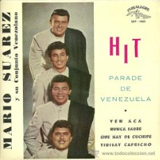Discos de vinilo: MARIO SUAREZ EP SELLO CUBALEGRE AÑO 1962 EDICCIÓN ESPAÑOLA.. Lote 29839214