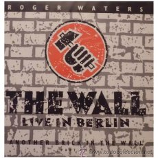 Discos de vinilo: ROGER WATERS PINK FLOYD - THE WALL LIVE IN BERLIN - 12 PULGADAS MAXI SINGLE RARO EDICION ESPAÑOLA. Lote 29847651