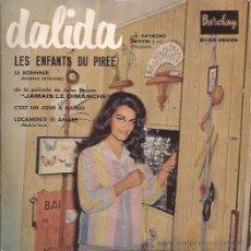 Discos de vinilo: EP-DALIDA-BARCLAY 28229-EDIC.ESPAÑOLA-TRI CENTER. Lote 29849421