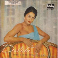 Discos de vinilo: EP-DALIDA-BARCLAY 28147-EDIC.ESPAÑOLA-TRI CENTER. Lote 29849458