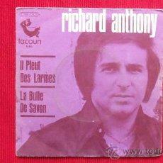 Discos de vinilo: RICHARD ANTHONY. Lote 29854564