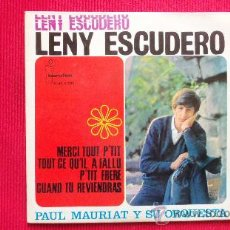 Dischi in vinile: LENY ESCUDERO - PAUL MAURIAT Y SU ORQUESTA. Lote 29855018