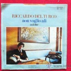 Discos de vinilo: RICCARDO DEL TURCO. Lote 29858400