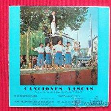 Discos de vinilo: CANCIONES VASCAS 1963. Lote 29858473