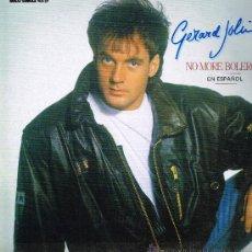 Disques de vinyle: GERARD JOLING - NO MORE BOLEROS (3 VERSIONES) / DECEMBER IN JULY - MAXISINGLE 1989. Lote 29859843