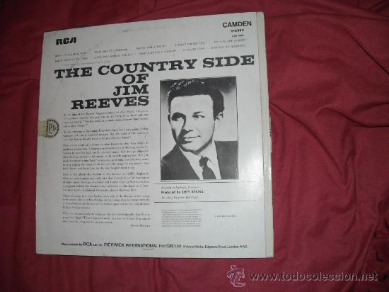 The Country Side Of Jim Reeves (LP)