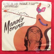 Discos de vinilo: MANOLO MORENO. Lote 29875214