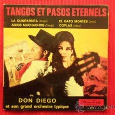 Discos de vinilo: DON DIEGO ET SON GRAND ORCHESTRE TYPIQUE. Lote 29875253
