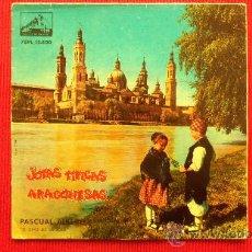 Discos de vinilo: PASCUAL ALBERO - JOTAS TIPICAS ARAGONESAS . Lote 29875943