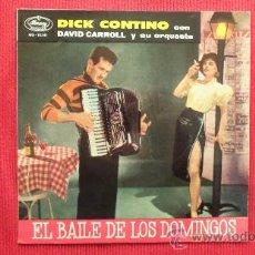 Discos de vinilo: DICK CONTINO CON DAVID CARROLL Y SU ORQUESTA. Lote 29879146