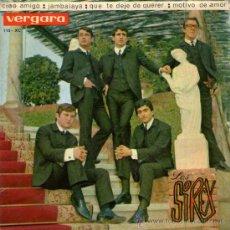 """Discos de vinilo: LOS SIREX - EP SINGLE VINILO 7"""" - CIAO AMIGO + 3 - VERGARA - AÑO 1964. Lote 29877156"""