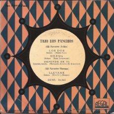 Discos de vinilo: EP-TRIO LOS PANCHOS-REGAL 34061--TITULOS EN PORTADA. Lote 29885078
