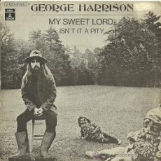 Discos de vinilo: GEORGE HARRISON (BEATLES) SINGLE SELLO ODEON EDITADO EN ESPAÑA AÑO 1970. Lote 29889940
