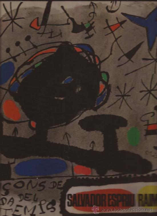 LP-RAIMON-SALVADOR ESPRIU-EDIGSA 164-1966-PORTADA ABIERTA DOBLE PAGINA CON LETRAS (Música - Discos - LP Vinilo - Solistas Españoles de los 50 y 60)