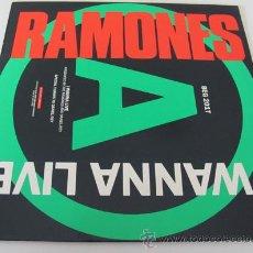 Discos de vinil: RAMONES - I WANNA LIVE - MAXISINGLE 1987. Lote 29902070