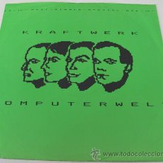 Discos de vinilo: KRAFTWERK - COMPUTERWELT - MAXISINGLE SPECIAL MIX - 1981. Lote 29902090