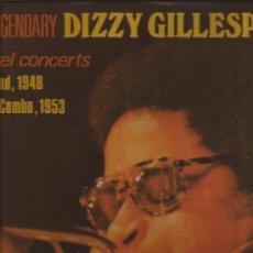 Discos de vinilo: LP-DIZZY GILLESPIE-THE LEGENDARY PLEYEL CONCERTS 1948/1953-JAZZ-DOBLE LP-. Lote 29909390