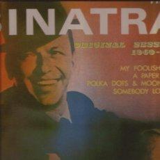Discos de vinilo: LP-FRANK SINATRA-ORIG. SESSIONS 1940/50-JAZZ-DOBLE LP-. Lote 29909471