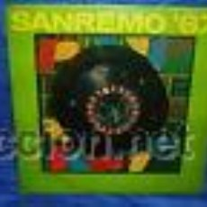 Discos de vinilo: SAN REMO ´67 LP 1967 LA SONOR MILANO ITALIAN EDITION. Lote 29910821