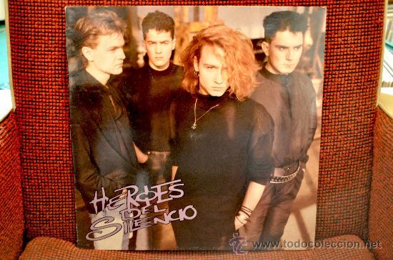 HEROES DEL SILENCIO (MINI LP) (Música - Discos de Vinilo - Maxi Singles - Grupos Españoles de los 70 y 80)