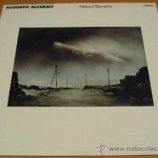 Discos de vinilo: ACOUSTIC ALCHEMY - NATURAL ELEMENTS - LP - MCA 1988 GERMANY MCA-42125 VOMO NUEVO. Lote 29912543