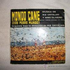 Discos de vinilo: MONDO CANE / ESTE PERRO MUNDO / VERGARA 1964. Lote 29924684
