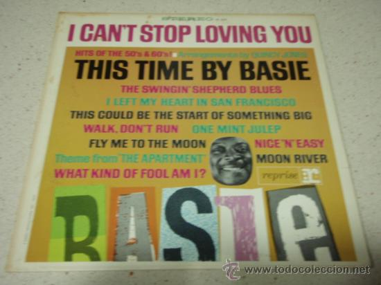 COUNT BASIE 'THIS TIME BY BASIE! HITS OF THE 50'S AND 60'S' ARRANGEMENTS BY QUINCY JONES USA LP (Música - Discos - LP Vinilo - Jazz, Jazz-Rock, Blues y R&B)