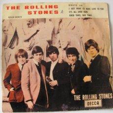 Discos de vinilo: THE ROLLING STONES - ROUTE 66 - EP ESPAÑOL 1964. Lote 29933898