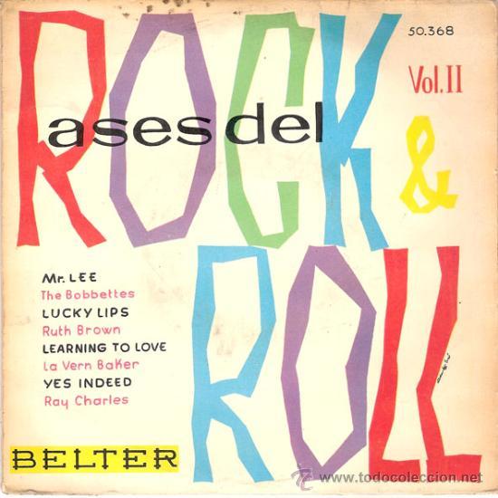 THE BOBBETTES / RUTH BROWN / LA VERN BAKER / RAY CHARLES - MR. LEE + 3 (EP DE 4 CANCIONES) 1960 (Música - Discos de Vinilo - EPs - Rock & Roll)