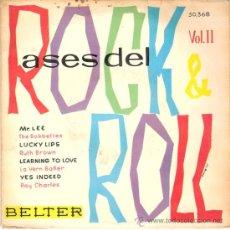 Discos de vinilo: THE BOBBETTES / RUTH BROWN / LA VERN BAKER / RAY CHARLES - MR. LEE + 3 (EP DE 4 CANCIONES) 1960. Lote 29942311
