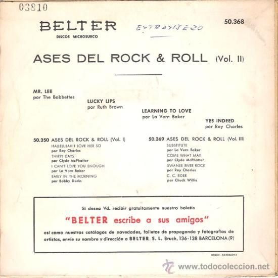 Discos de vinilo: THE BOBBETTES / RUTH BROWN / LA VERN BAKER / RAY CHARLES - MR. LEE + 3 (EP DE 4 CANCIONES) 1960 - Foto 2 - 29942311