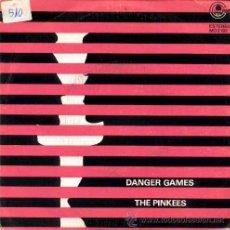 Discos de vinilo: THE PINKEES - DANGER GAMES / KEEP ON LOVING YOU - (SINGLE 45 RPM). Lote 29947494
