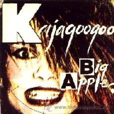 Discos de vinilo: KAJAGOOGOO - BIG APPLE / MONOCHROMATIC (LIVE) - (SINGLE 45 RPM) - NUEVO. Lote 29950368