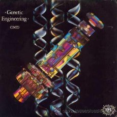 Discos de vinilo: ORCHESTRAL MANOEUVRES IN THE DARK (OMD) - GENETIC ENGINEERING / NEU - (SINGLE 45 RPM). Lote 29950465