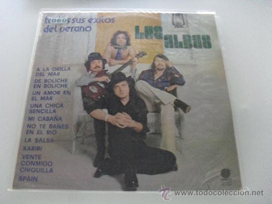 LOS ALBAS - TODOS SUS EXITOS DEL VERANO 1978 (Música - Discos - LP Vinilo - Grupos Españoles de los 70 y 80)