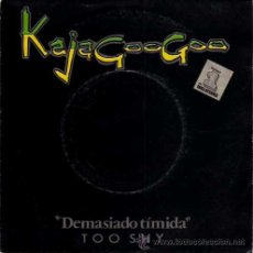 Discos de vinilo: KAJAGOOGOO - TOO SHIP / TOO SHIP (INSTRUMENTAL) - (SINGLE 45 RPM). Lote 29954959