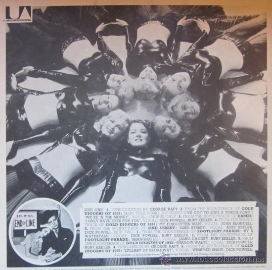 Discos de vinilo: THE GOLDEN AGE OF THE HOLLYWOOD MUSICAL - Editado en USA - Portada doble con desplegable interior - Foto 4 - 29961782