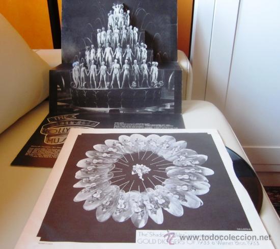 Discos de vinilo: THE GOLDEN AGE OF THE HOLLYWOOD MUSICAL - Editado en USA - Portada doble con desplegable interior - Foto 5 - 29961782
