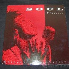 Discos de vinilo: LP SOUL CLASSICS // LP DOBLE // VER DESCRIPCION. Lote 29962651